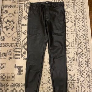 Zara trafaluc TRFLC leather legging